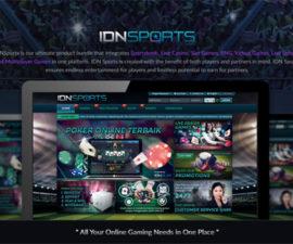 Agen Judi IDNSports Online Terpercaya