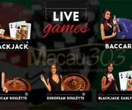 LIVE CASINO ONLINE - Macau303.site terlengkap dan terpercaya