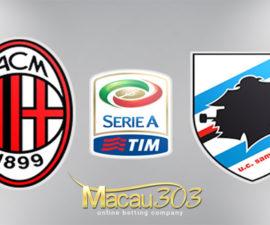 Prediksi Judi Bola AC Milan vs Sampdoria 19 Februari 2018