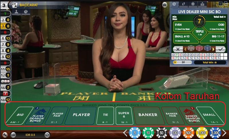 Agen Judi Live Casino Online Terpercaya