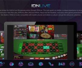 Agen Judi IDNLive Casino Online Terpercaya