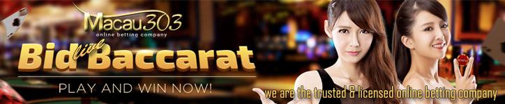 LIVE BACCARAT ONLINE - Agen Judi Casino Live Baccarat Online Terpercaya