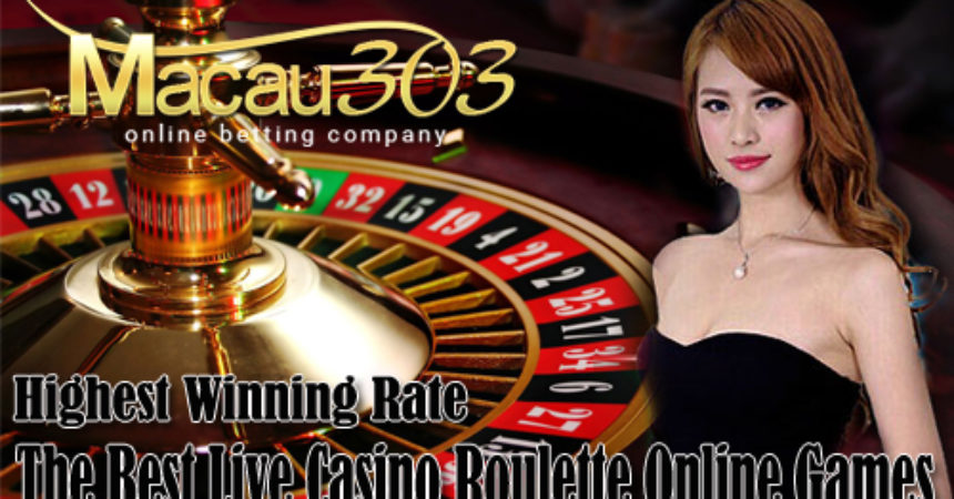 Agen Judi Casino Live Roulette Online Terpercaya