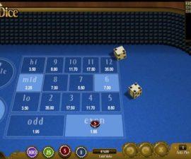 lucky dice mudah menang